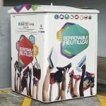 Koopera instala un nuevo contenedor de reutilización en Leioa (Bizkaia)