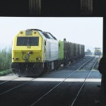 Sogama ya transporta más residuos por tren que por carretera
