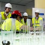 Visita institucional a la planta de reciclaje de Metallo en Berango en su 25 aniversario