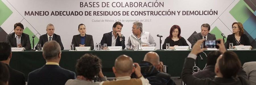 México quiere aprovechar los escombros tras los terremotos para reconstruir las zonas afectadas