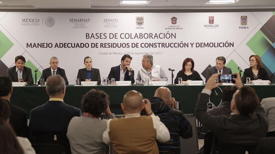 México pretende reciclar los escombros de los terremotos