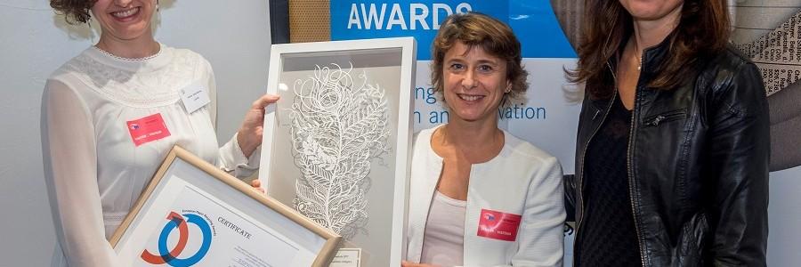 La iniciativa Pajaritas Azules recibe el premio europeo de reciclaje de papel