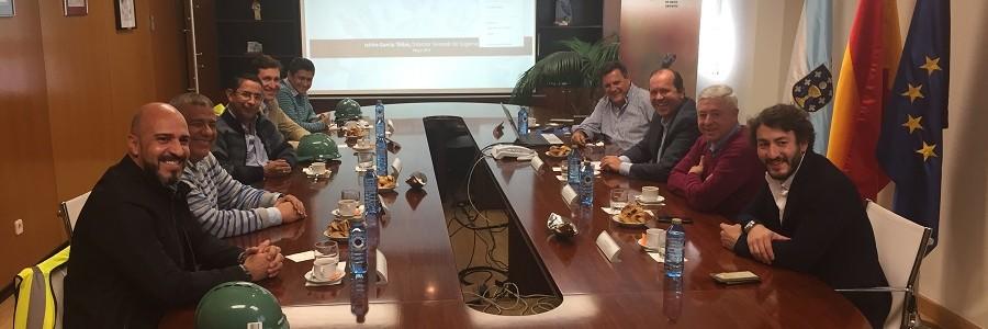 Colombia quiere importar el modelo de transporte combinado de residuos de Sogama
