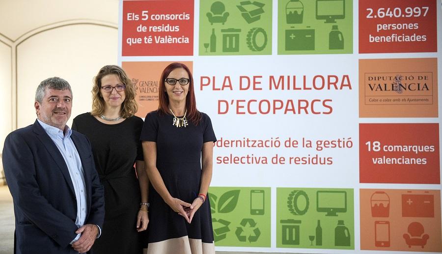 La Diputación de Valencia invertirá en la mejora y modernización de los ecoparques