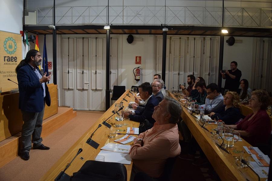 Celebrado el taller de información ambiental sobre RAEE
