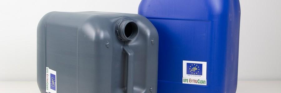 El proyecto LIFE EXTRUCLEAN concluye con éxito al lograr eliminar un 86% de los contaminantes de envases