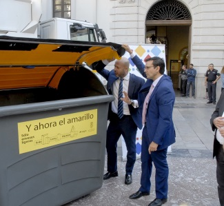 Sensores en los contenedores de Granada