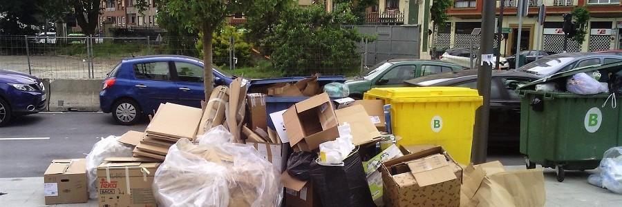 Apenas un 18% de los residuos urbanos se recogen de forma separada