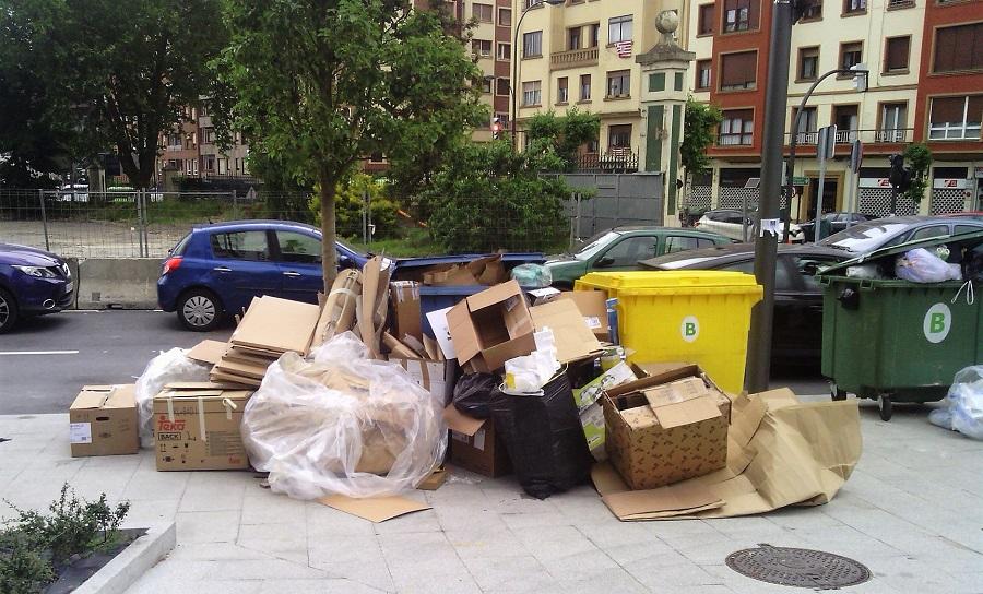 Aumenta la recogida de residuos urbanos en España