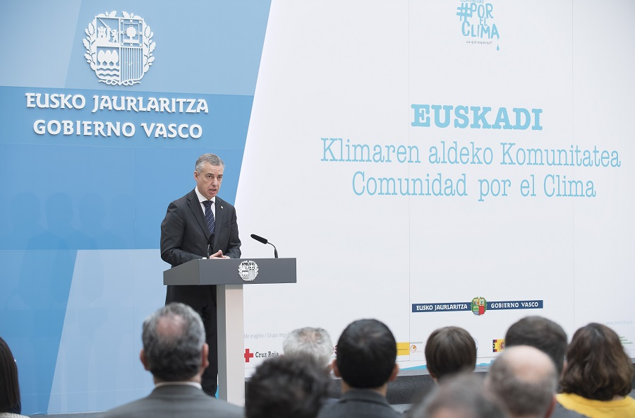 Euskadi se une a la Comunidad #PorElClima