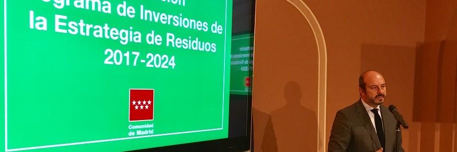 La Comunidad de Madrid destinará 300 millones de euros a la gestión de residuos
