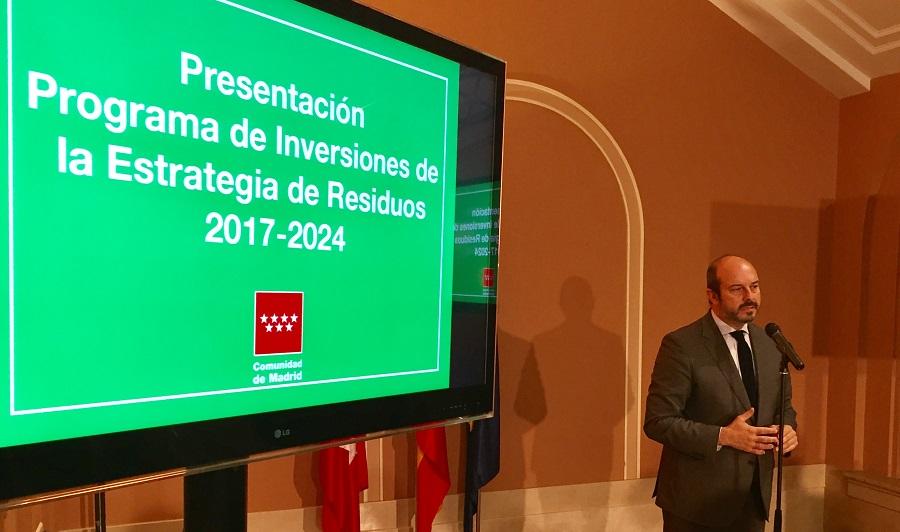 La Comunidad de Madrid hará un importante esfuerzo para mejorar la gestión de residuos en la región