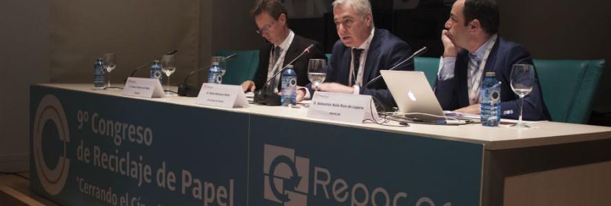 """Javier Cachón: """"El sector de la recuperación de papel es pionero en la economía circular en España"""""""
