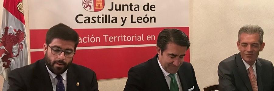 Convenio para sellar 151 escombreras ilegales en la provincia de Ávila