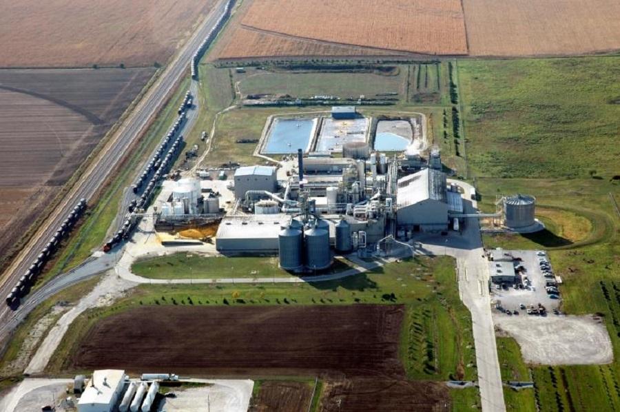 Abengoa ya cuenta con otras instalaciones de producción de biocombustibles en EEUU
