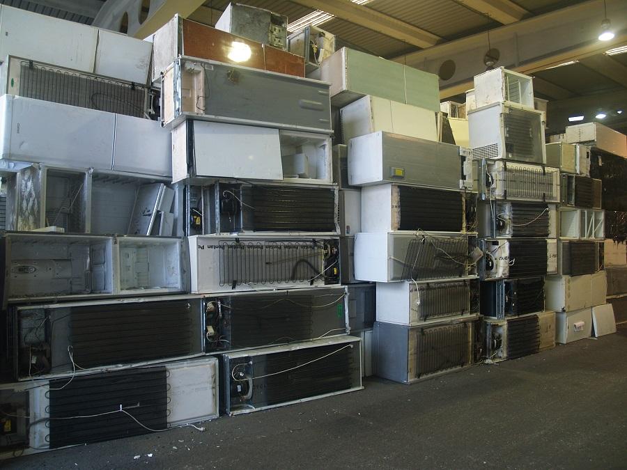 Guía de desensamble manual de refrigeradores y aparatos de aire acondicionado