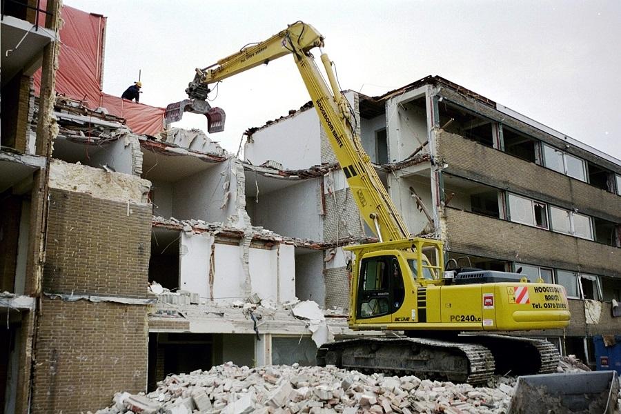 Los residuos de construcción y demolición son una fuente enorme de materiales