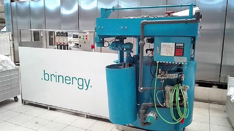 El nuevo sistema de Brinergy permite reciclar agua con gran eficiencia