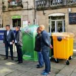 Cerca de 40 ayuntamientos de A Coruña contarán con nuevos contenedores de reciclaje de envases y papel-cartón