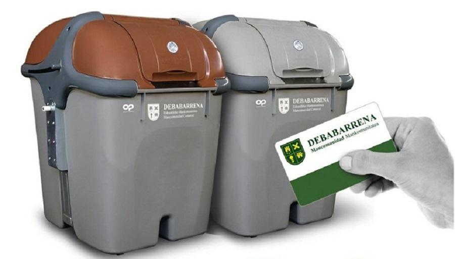 La mancomunidad de Debabarrena amplía el uso de cinco contenedores a todos los municipios