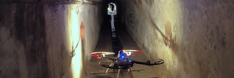 Un dron inspeccionará el alcantarillado de Barcelona