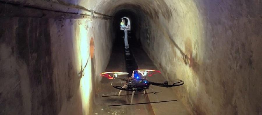 Un dron inspeccionará las alcantarillas de Barcelona