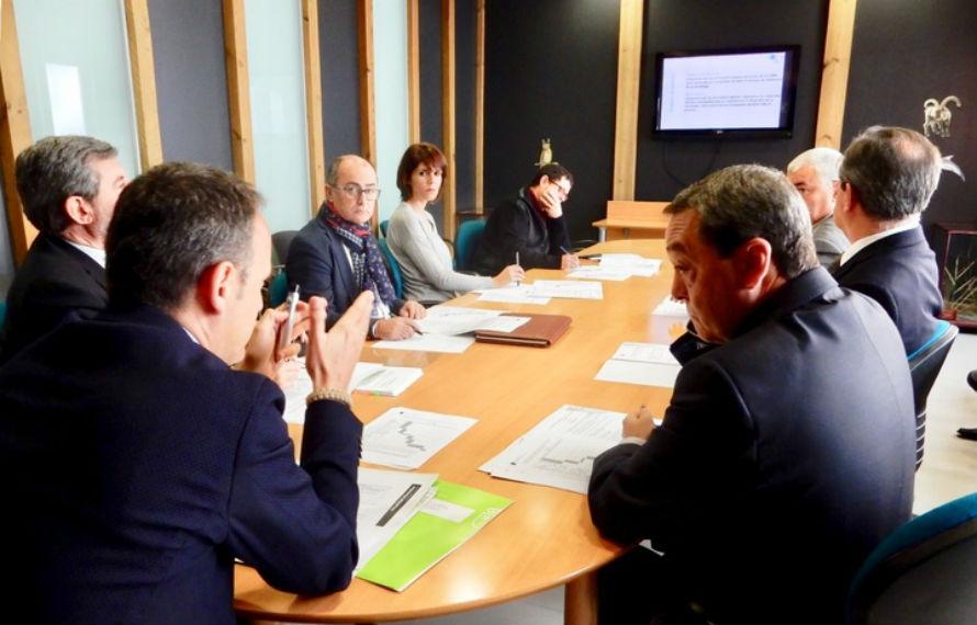 Primera reunión de la Comisión de Dirección para la elaboración de la Estrategia de Economía Circular de la Región de Murcia. Fotografía: Gobierno de la Región de Murcia