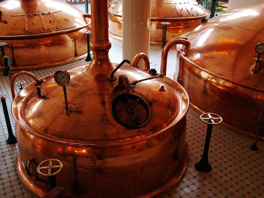 Alambiques para la producción de cerveza