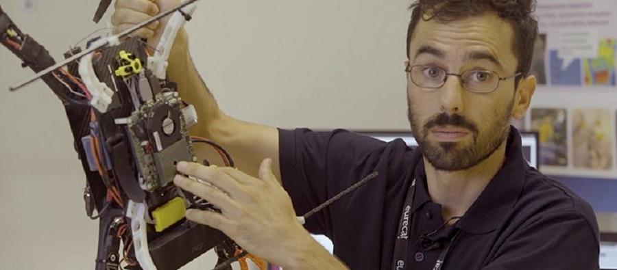 François Chataigner es investigador de la Unidad de Robótica y Automatización y responsable de programación del dron del proyecto ARSI