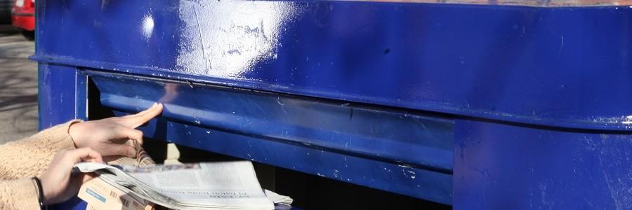 La recogida de papel para reciclar crece por cuarto año consecutivo