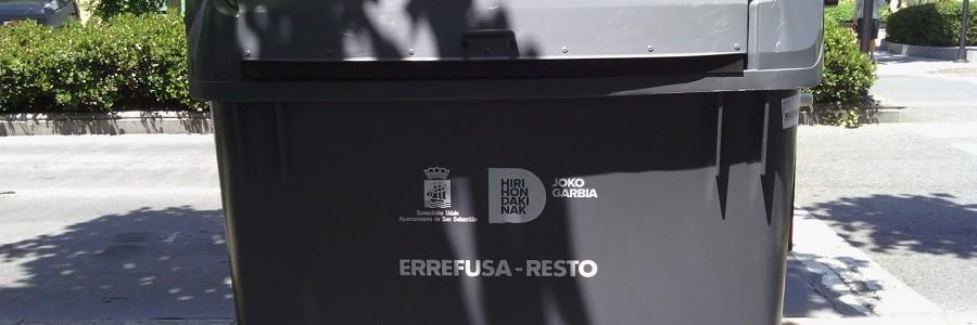 San Sebastián instalará sensores en contenedores de fracción resto