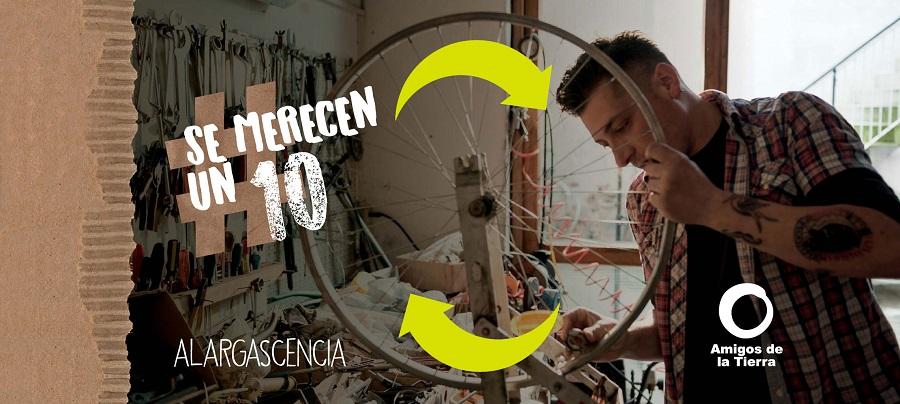 La campaña #SeMerecenUn10 busca fomentar la reutilización