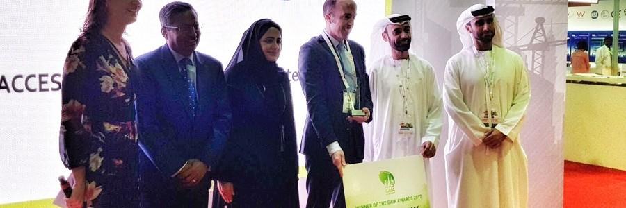 Una empresa navarra, premiada en Dubai por sus arquetas de plástico 100% reciclado