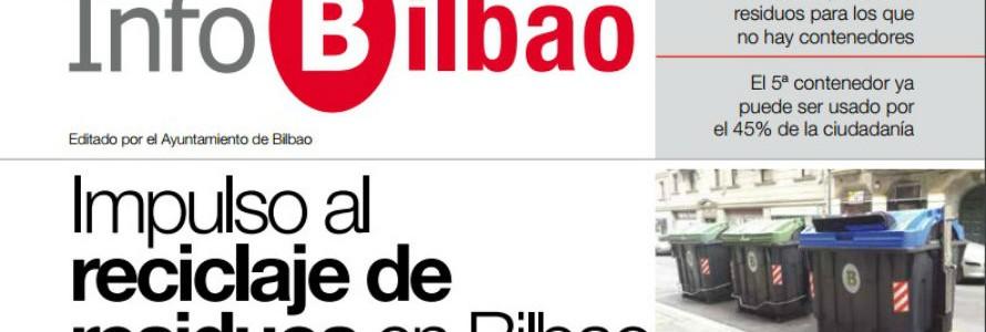 Bilbao reparte un InfoBilbao especial dedicado al reciclaje de residuos