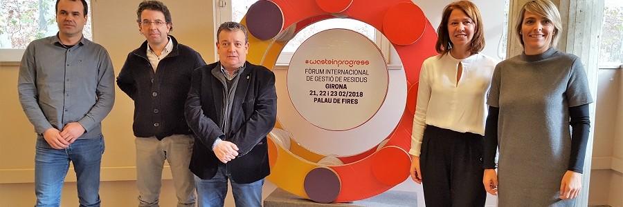 La recogida de residuos en zonas turísticas y grandes eventos, a debate en el II Foro #wasteinprogress de Girona