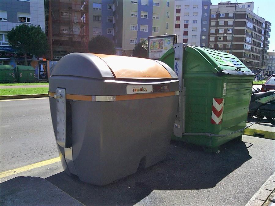 OSUR ha reconocido el sistema de recogida de residuos de Gijón