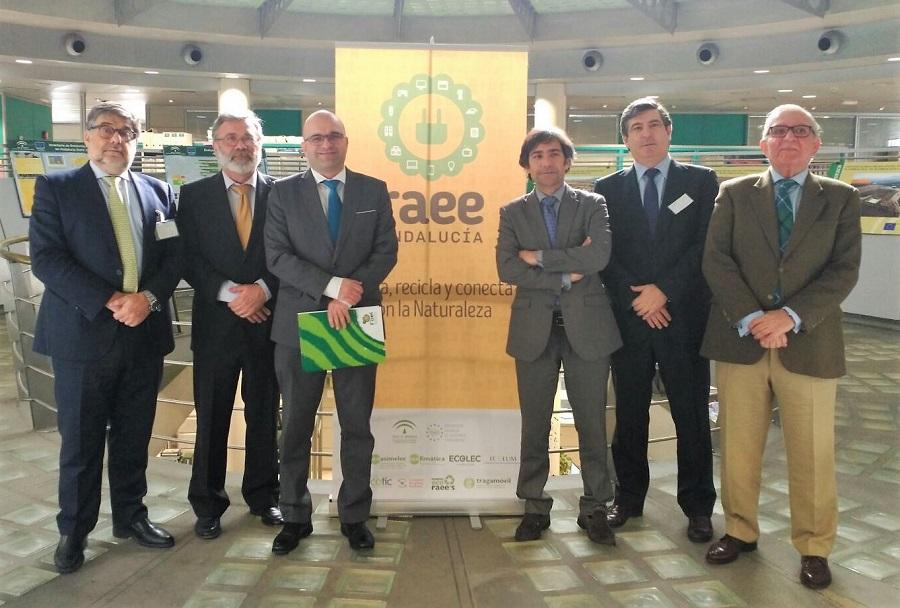 Presentación de los resultadodel convenio de FAEL, SCRAP y Recilec para el reciclaje de RAEE