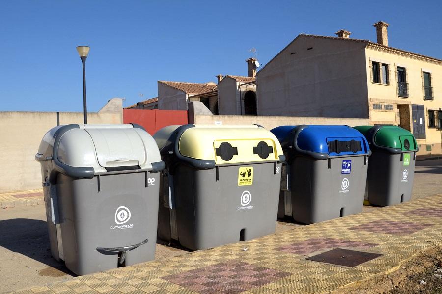 Contenedores de recogida de residuos de Comsermancha