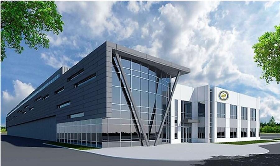 Recreación de la nueva planta de reciclaje de FCC en Houston