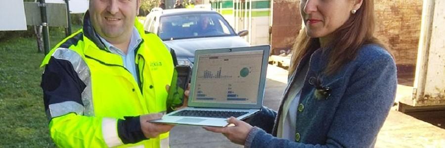 Bizkaia informatiza la gestión de puntos limpios