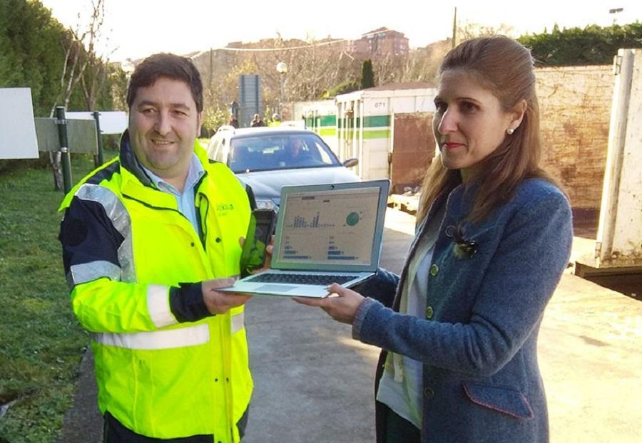 Bizkaia miplanta la gestión informatizada en sus puntos limpios