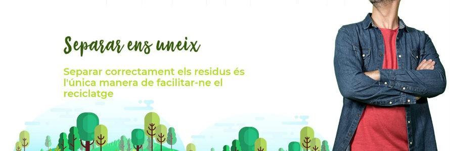 «Separar ens Uneix», la nueva campaña de sensibilización sobre residuos de Islas Baleares