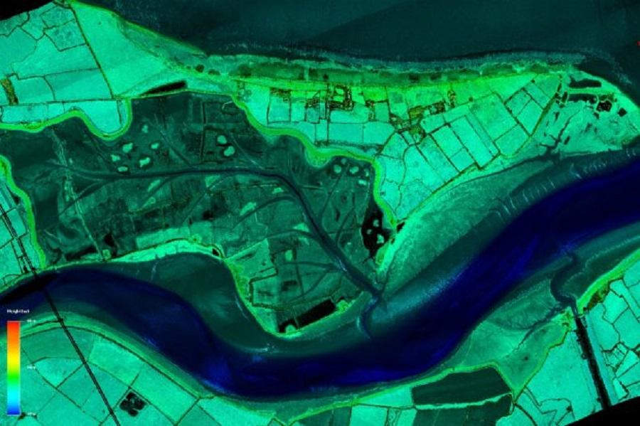 Mapas digitales de Inglaterra para luchar contra el vertido de residuos