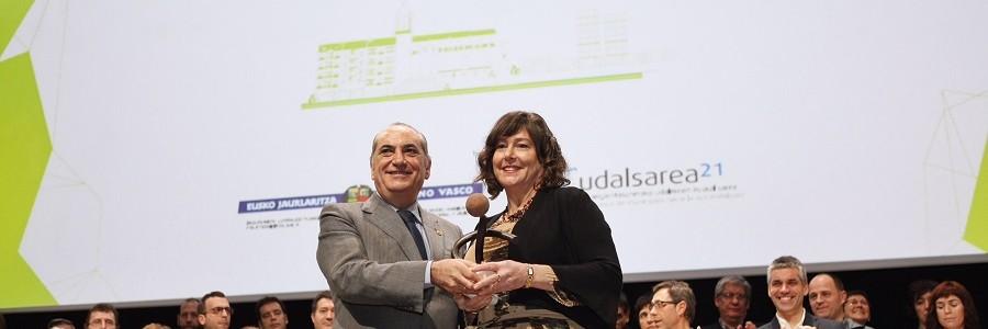 Vitoria-Gasteiz gana el Premio Municipio Sostenible de Euskadi 2017