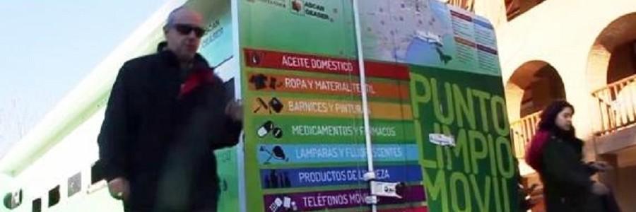 Los puntos limpios móviles de Santander recogieron 76 toneladas de residuos en 2017