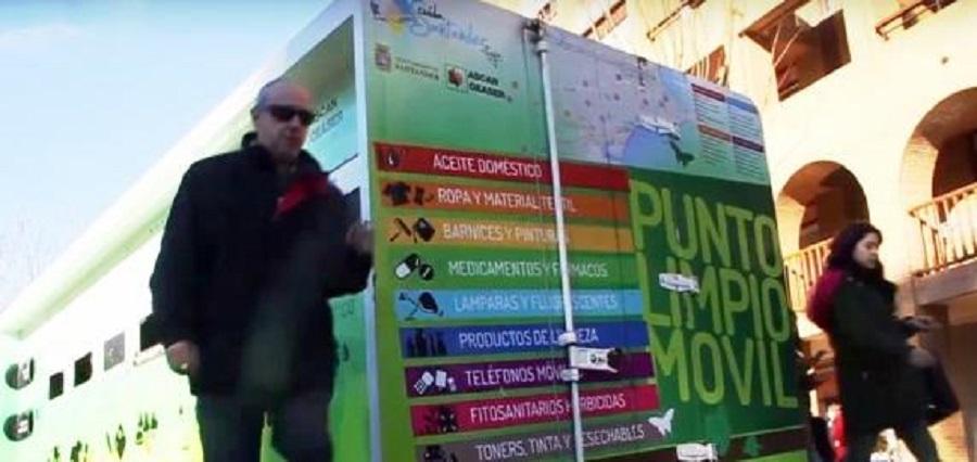 Punto limpio móvil en Santander
