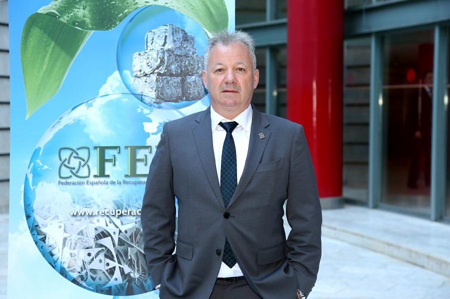 Ion Olaeta, presidente de FER, defiende al sector la gestión de residuos