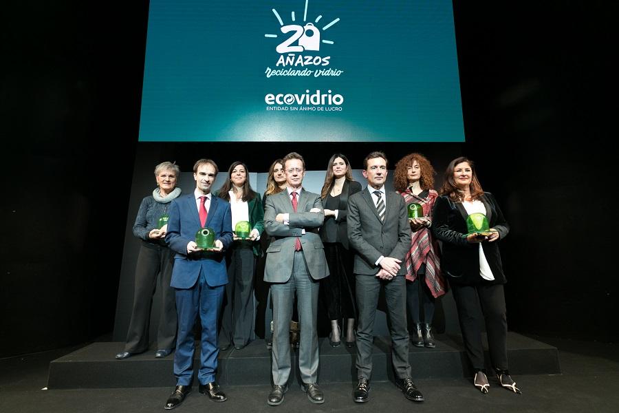 Ecovidrio entregó ayer sus XVIII Premios Periodísticos
