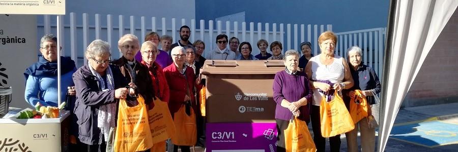 Les Valls (Valencia) inicia la recogida selectiva de materia orgánica con solo un 7% de residuos impropios