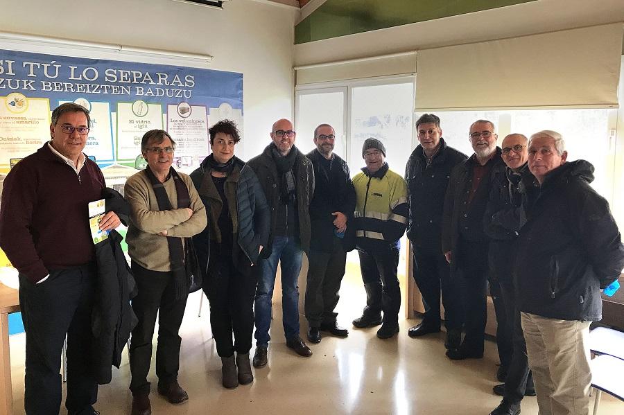 Visita de Comsermancha a Navarra